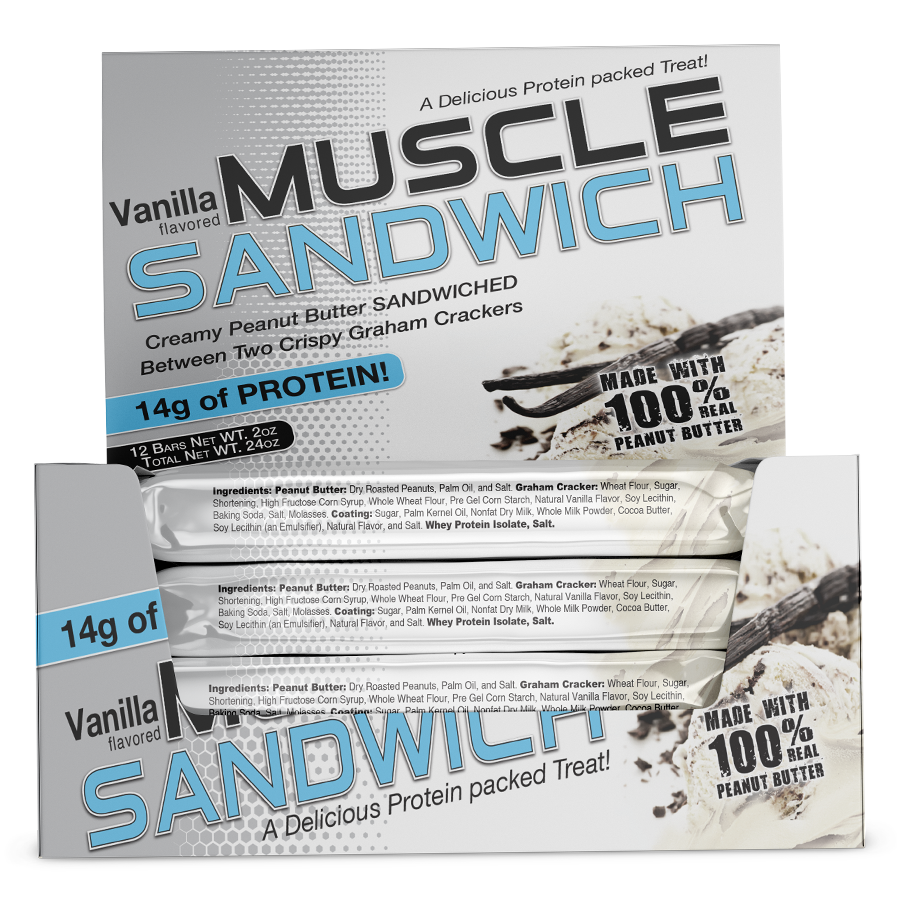 The Vanilla Muscle Sandwich®